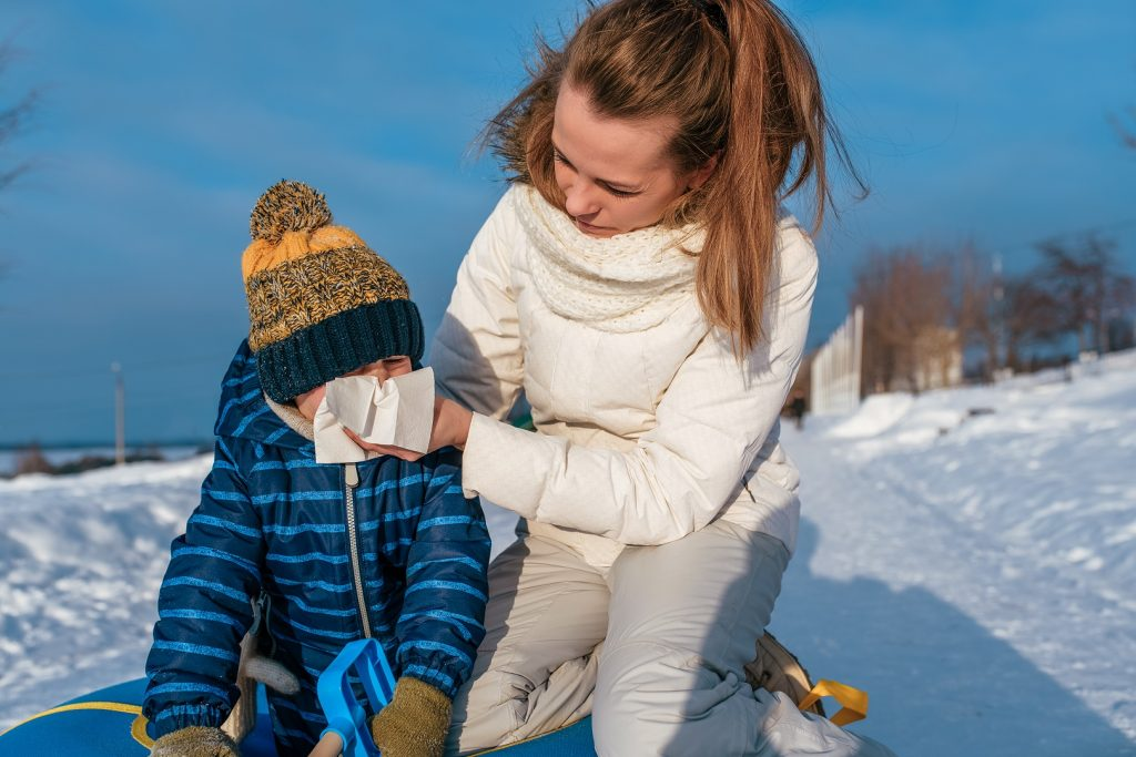 Child's Winter Cough 1024x683 - The Five Stages of Dealing With Your Child's Winter Cough