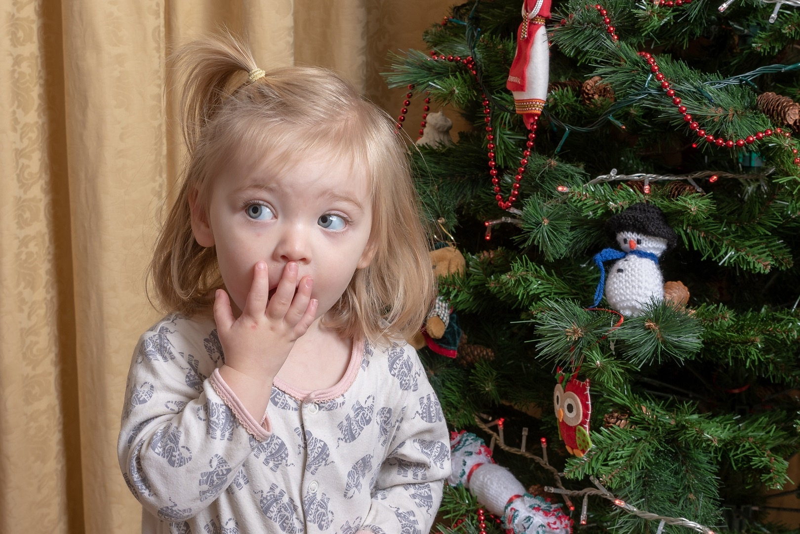 Over Her Christmas Presents - 3 y/o Realizes She's 100% Over Her Christmas Presents