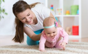 tips to help your baby crawl easily 300x184 - How to Help Baby Crawl?
