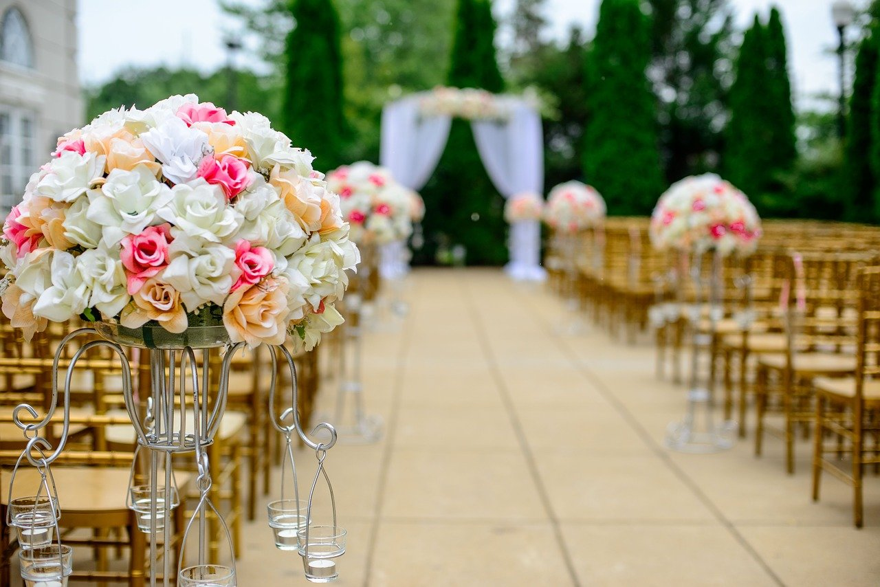 wedding 1846114 1280 - 5 Top Tips for Wedding Flowers