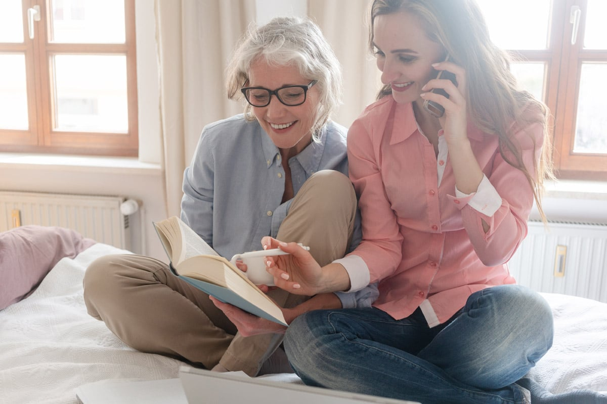 moms Elderly - 7 Ways Busy Moms Can Care For Elderly Loved Ones
