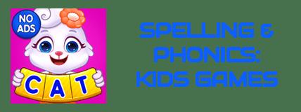 Spelling Phonics Kids Games - 13 Best PreSchool Apps of 2021